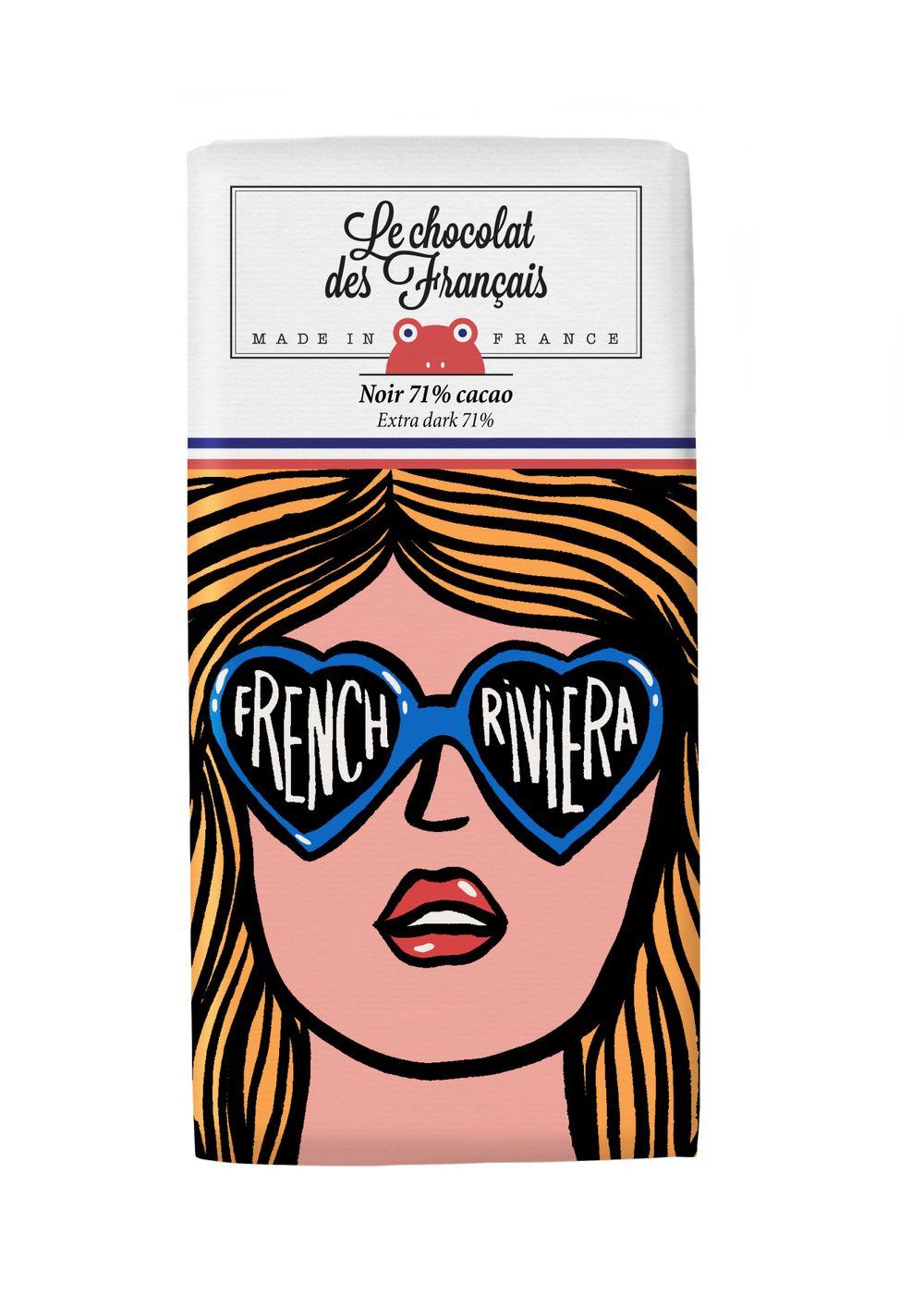 Dark Chocolate - The French Riviera Sunglasses