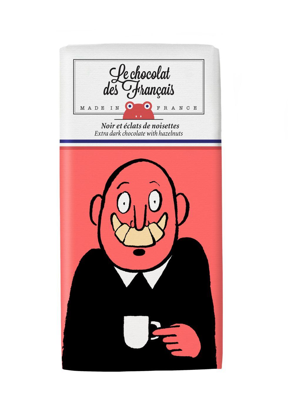 Dark Chocolate with Hazelnuts - Mr. Croissant