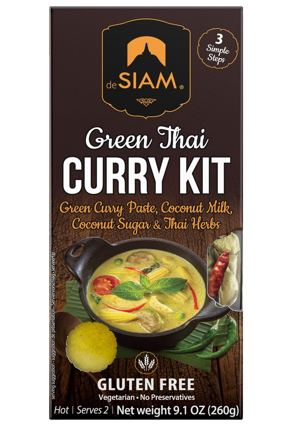 Green Curry Cooking Set