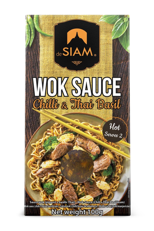 Chilli & Thai Basil Wok Sauce