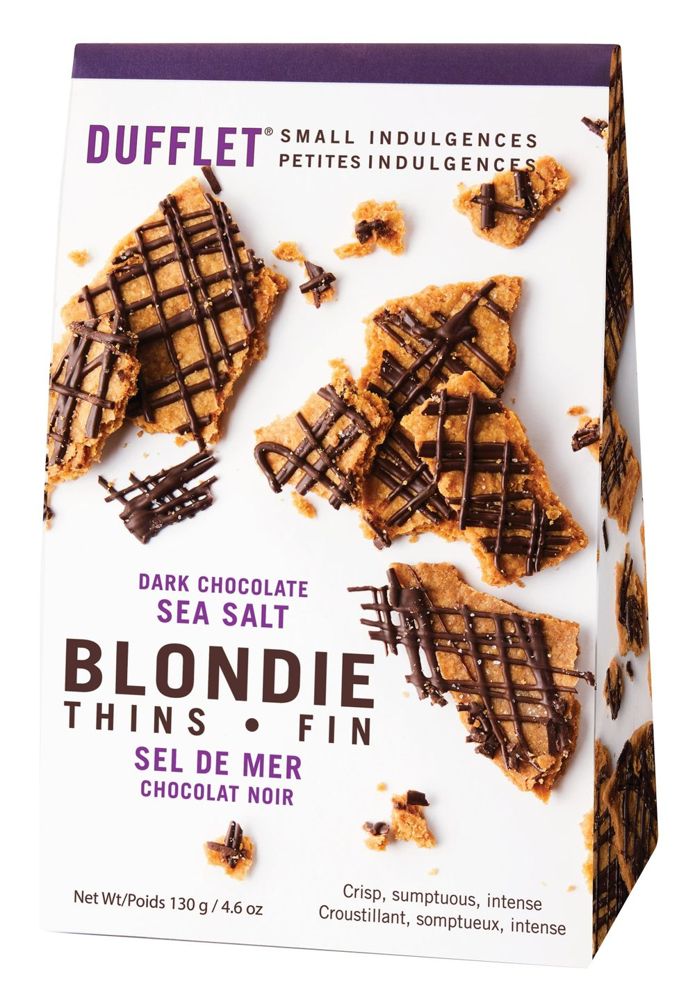 Dark Chocolate & Sea Salt Cookie Bark
