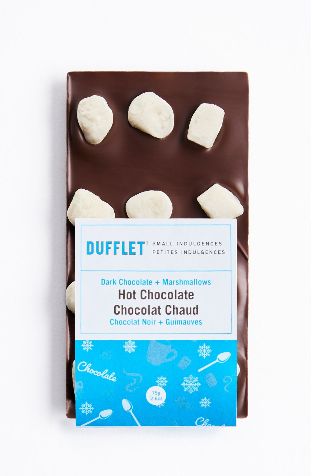 Dark Chocolate and Marshmallows Hot Chocolate