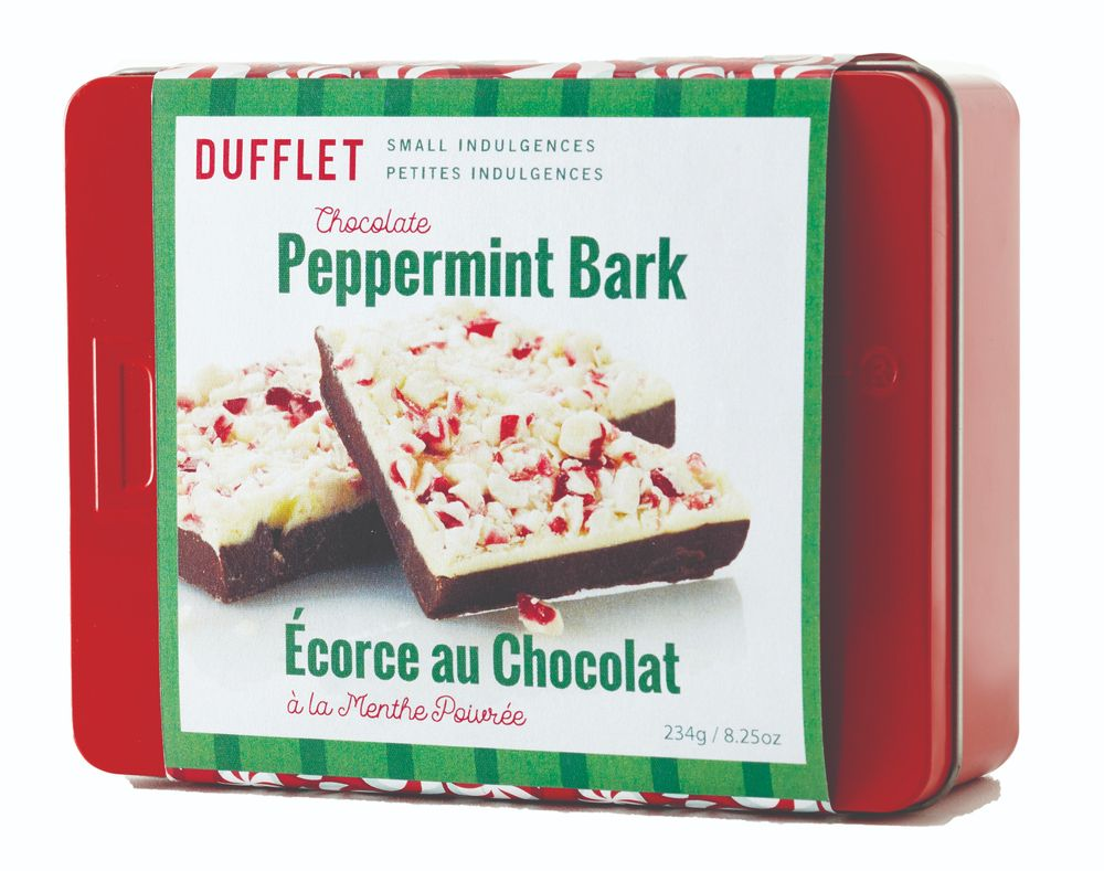 Peppermint Bark Tin