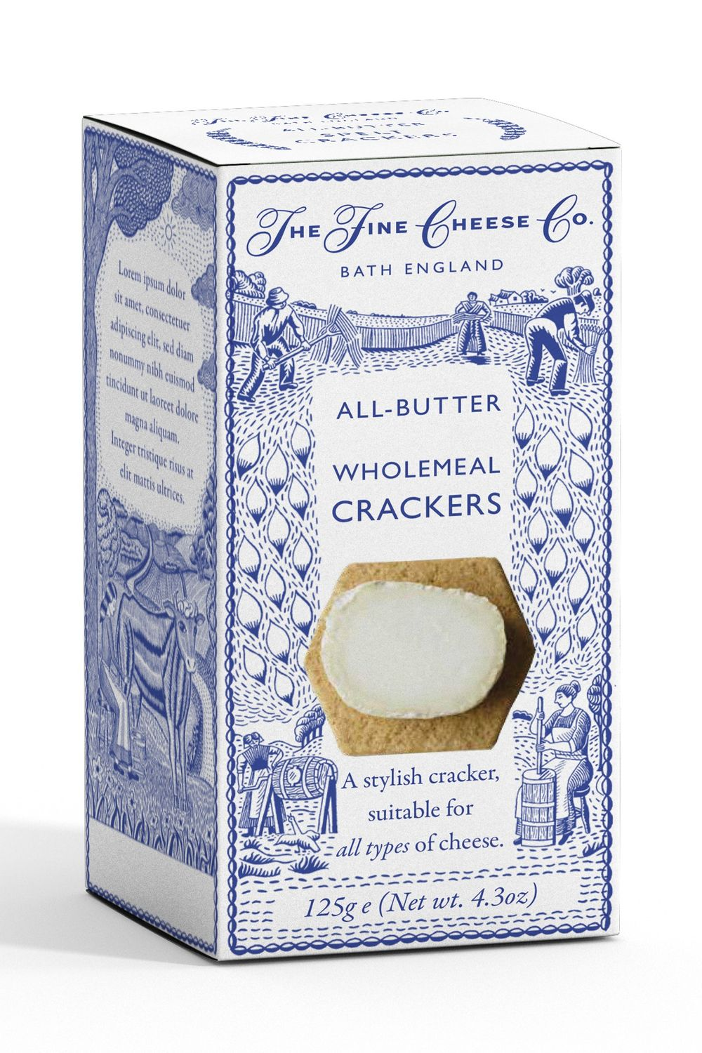 Classic Wholemeal Crackers