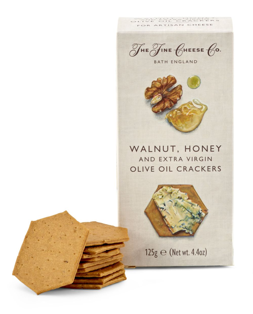 Walnut, Honey & Extra Virgin Olive Oil Crackers