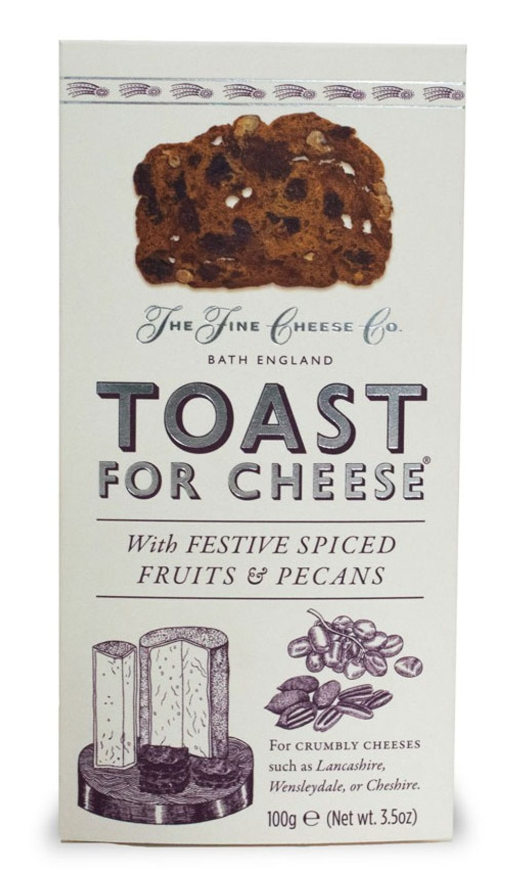 Festive Toast for Cheese