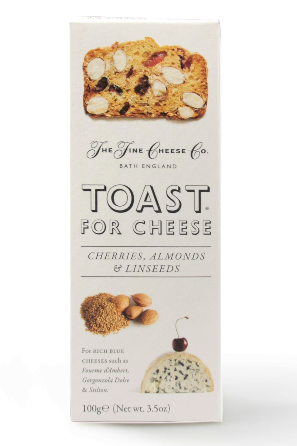 Cherry Almond Toast for Cheese