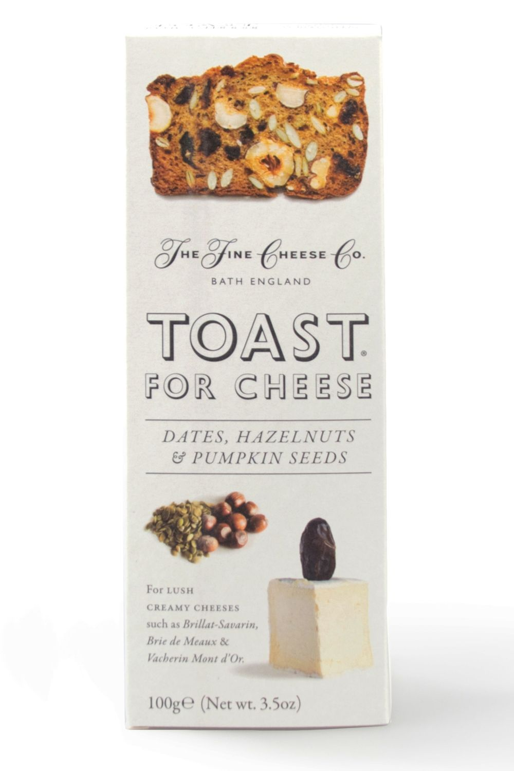 Date & Hazelnut Toast for Cheese