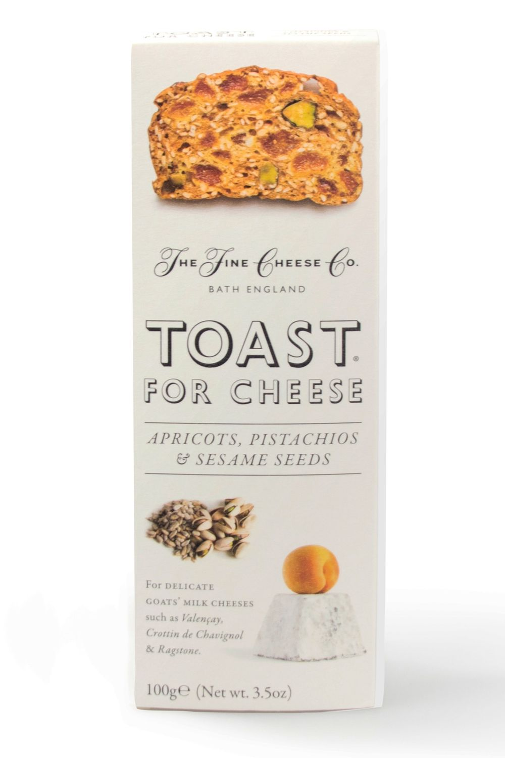Apricot Pistachio Toast for Cheese