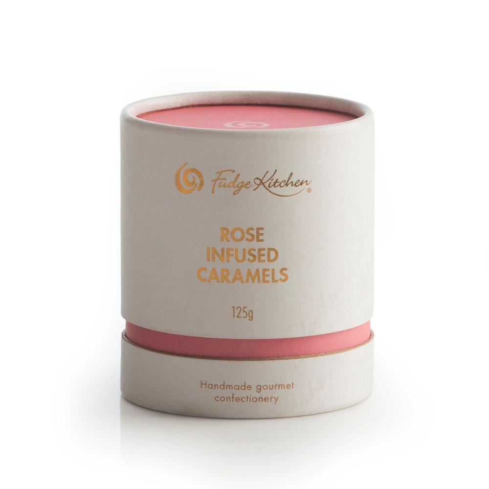 Rose Infused Caramels