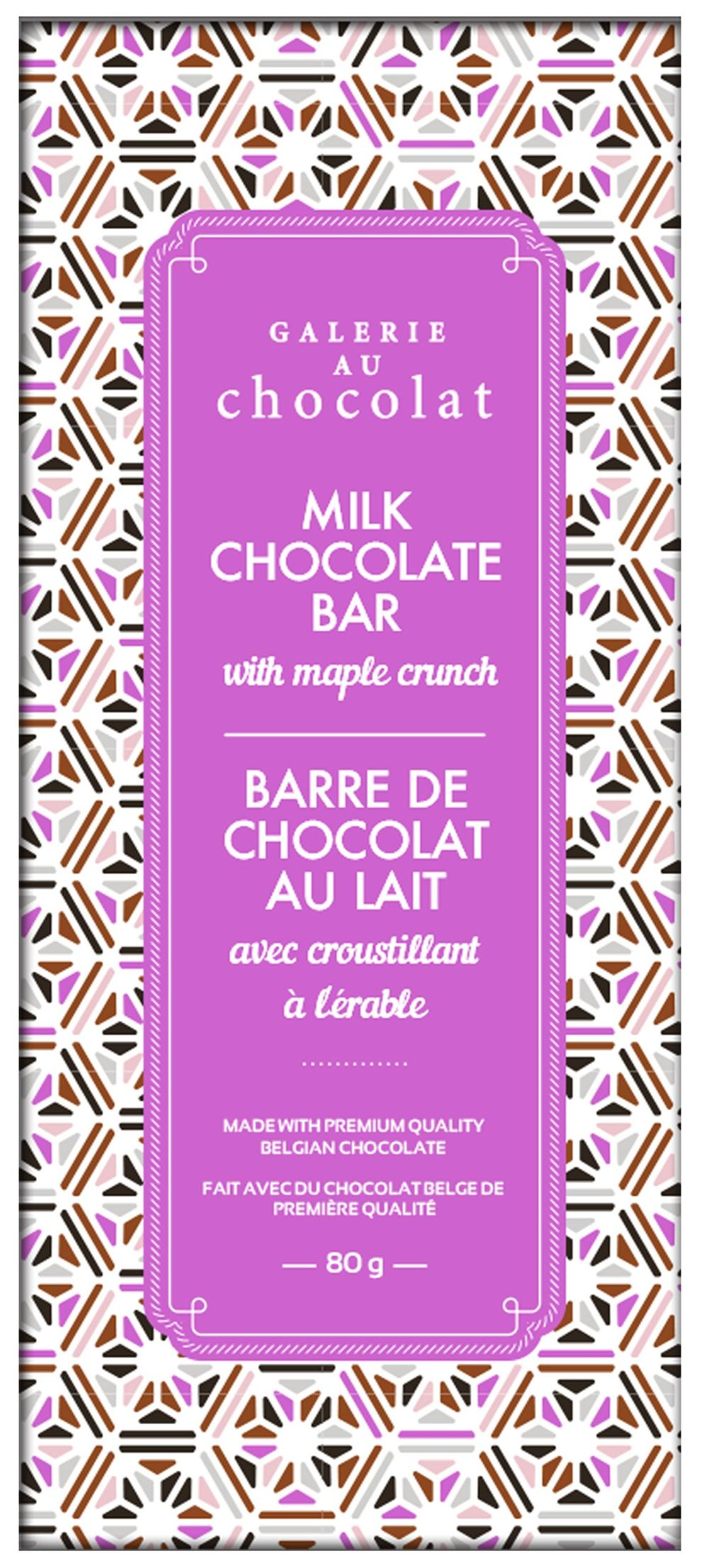 Milk Chocolate Maple Crunch Bar