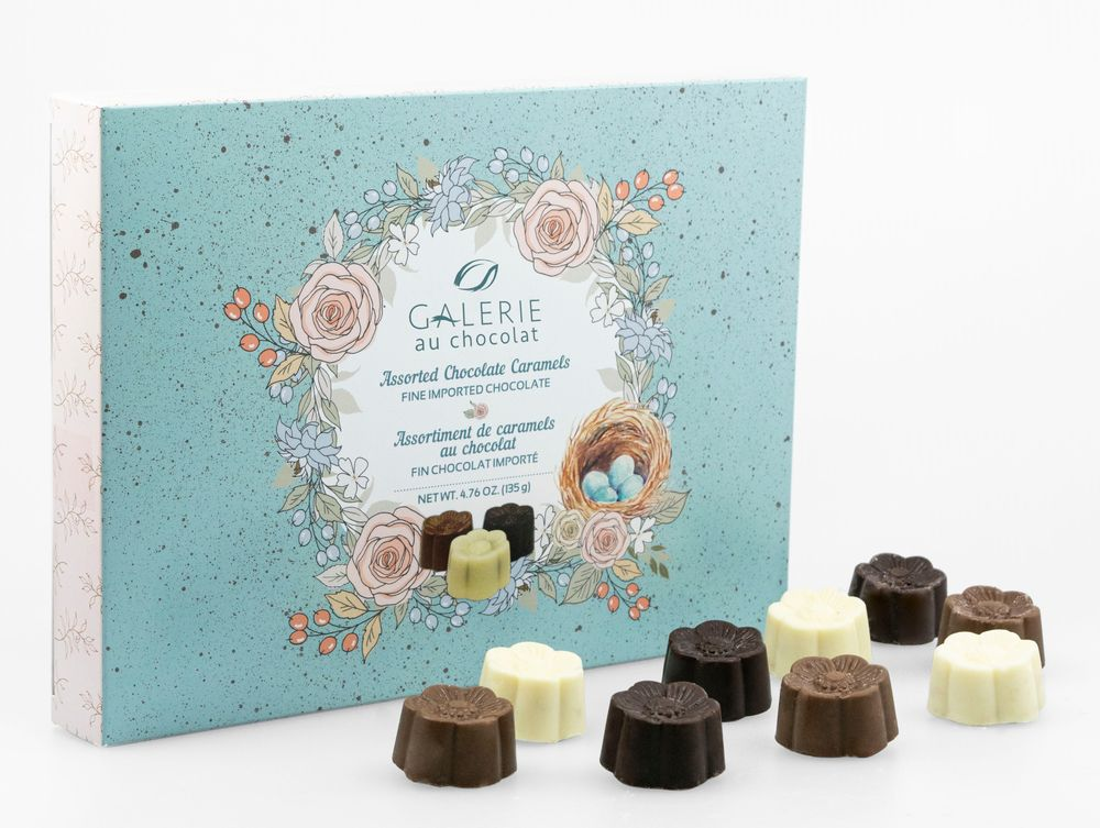 Spring Gift Box of Assorted Caramels