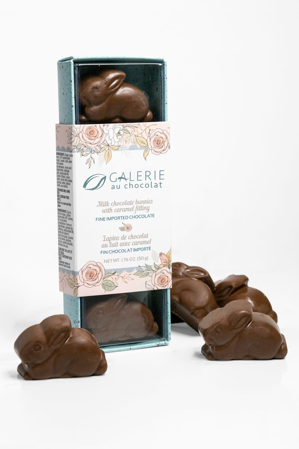 Milk Chocolate Caramel Bunnies
