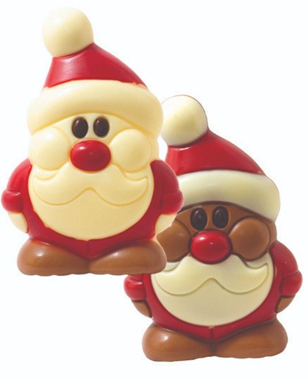 Bulk Chocolate Santa