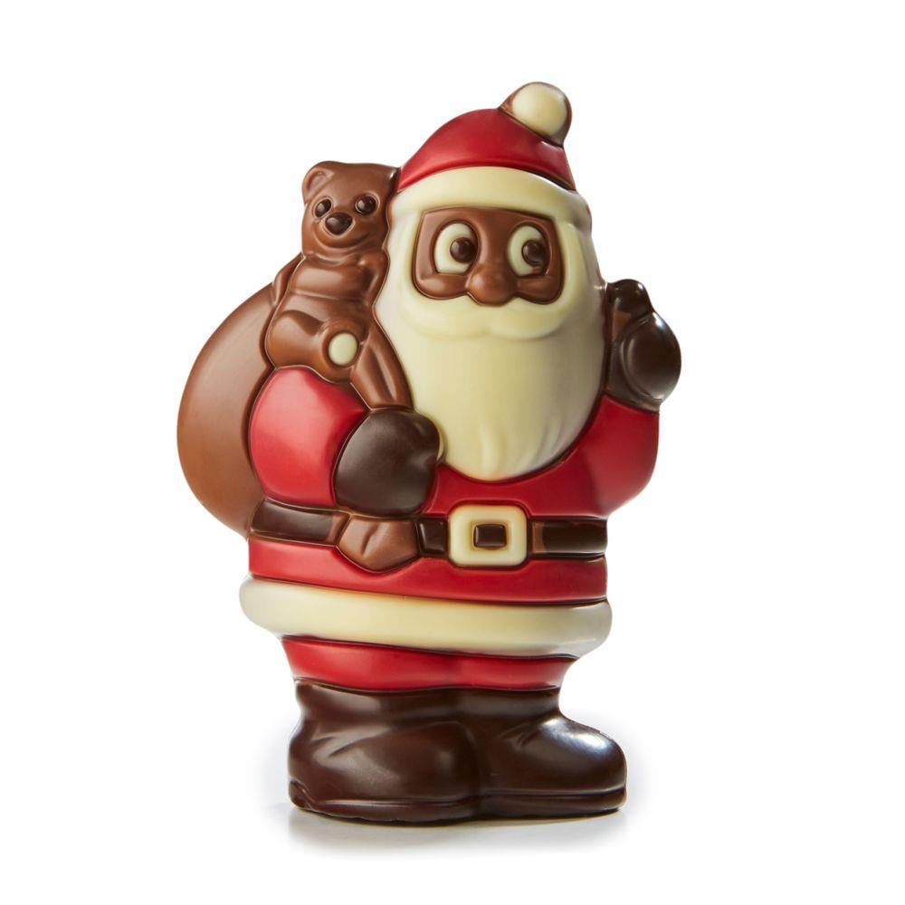 Santa with Bear and Bag