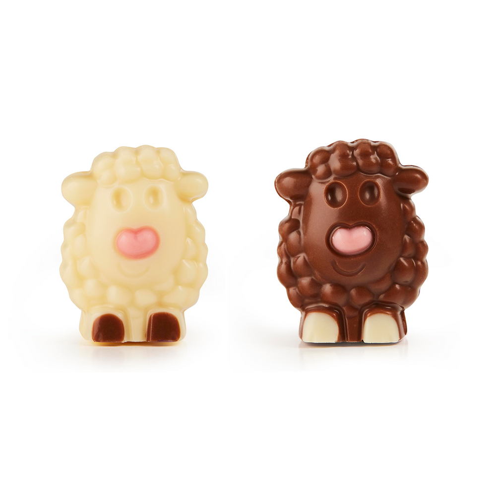 Little Sheep in Milk and White Chocolate BULK