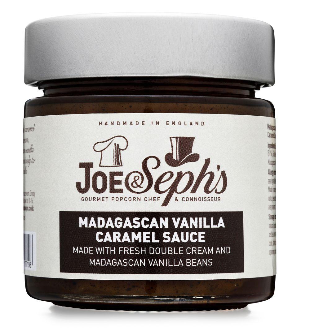 Madagascan Vanilla Caramel Sauce