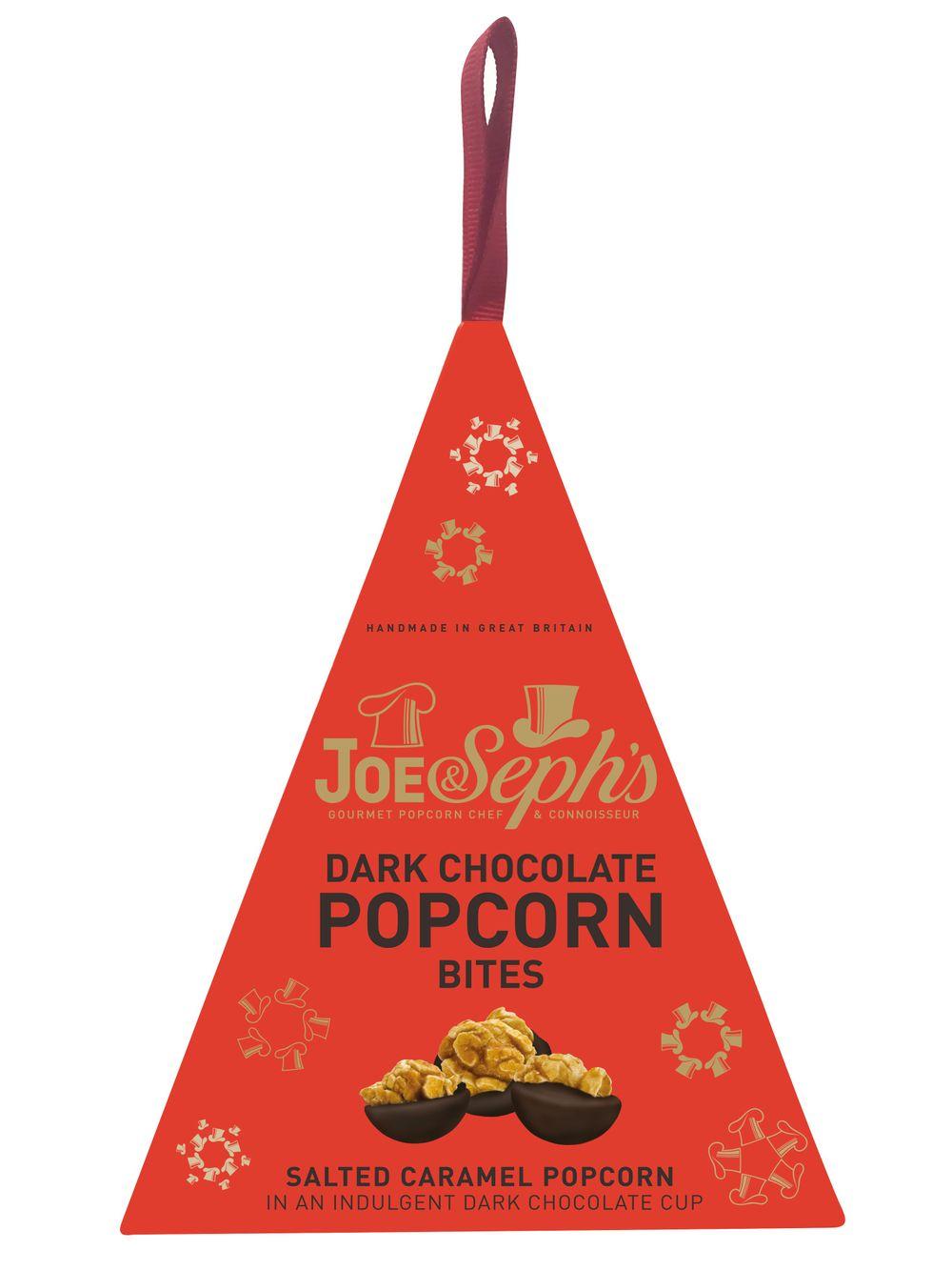 Dark Chocolate Popcorn Bites Bauble