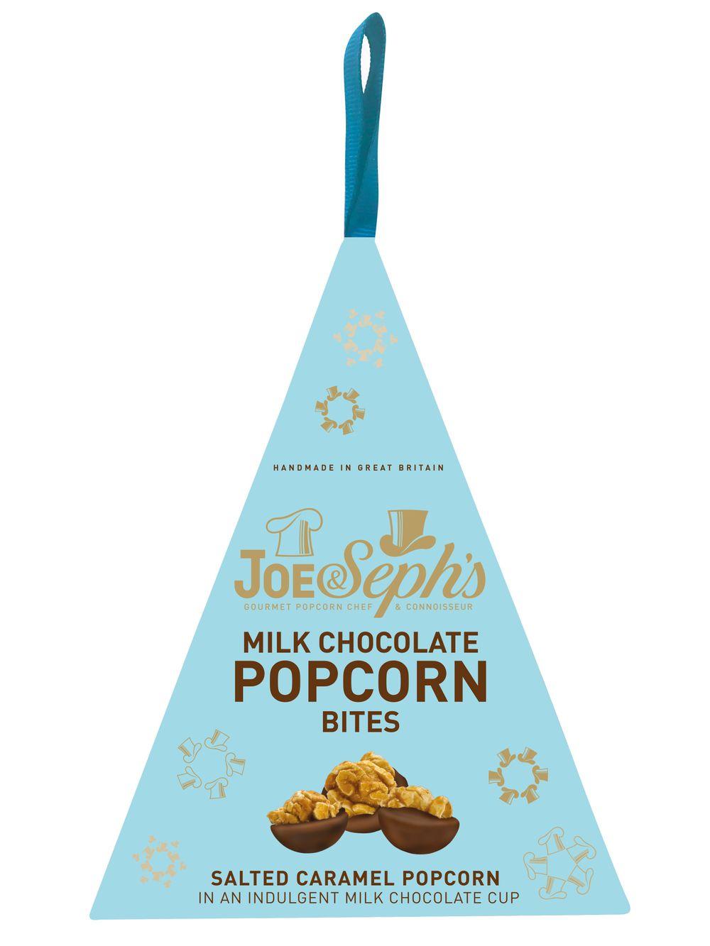 Milk Chocolate Popcorn Bites Bauble