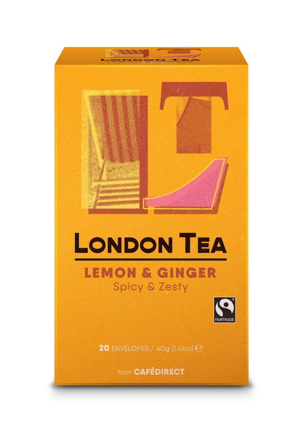 Zingy Lemon & Ginger Tea