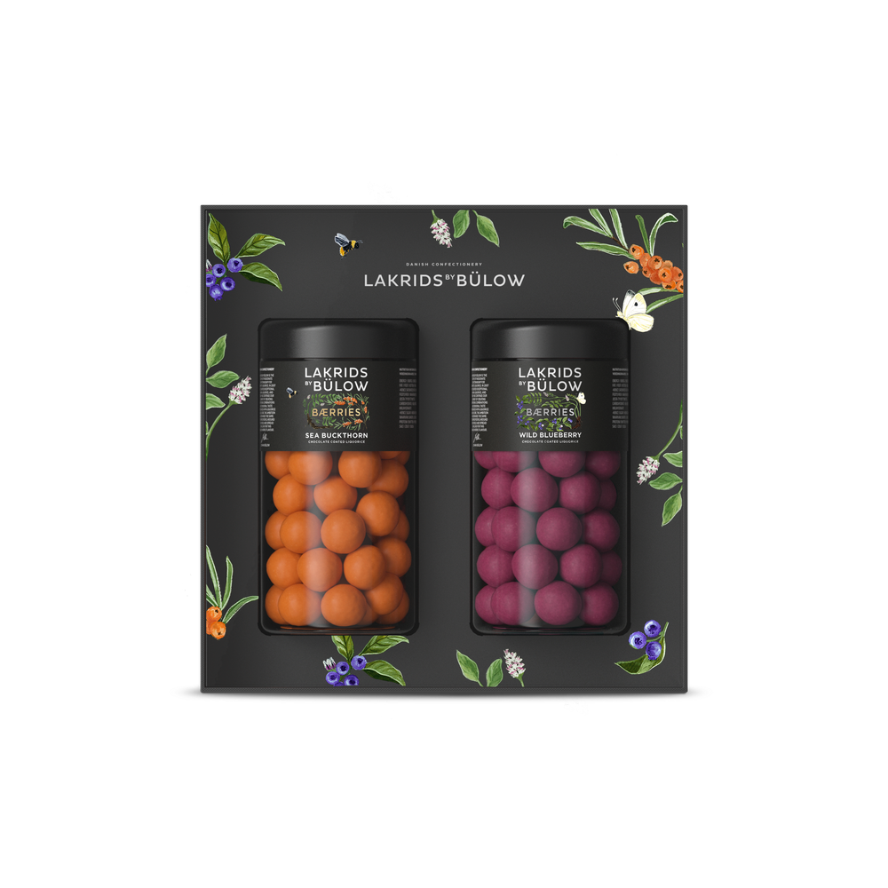 Baerries Box - Sea Buckthorn (Reg) and Wild Blueberry (Reg)