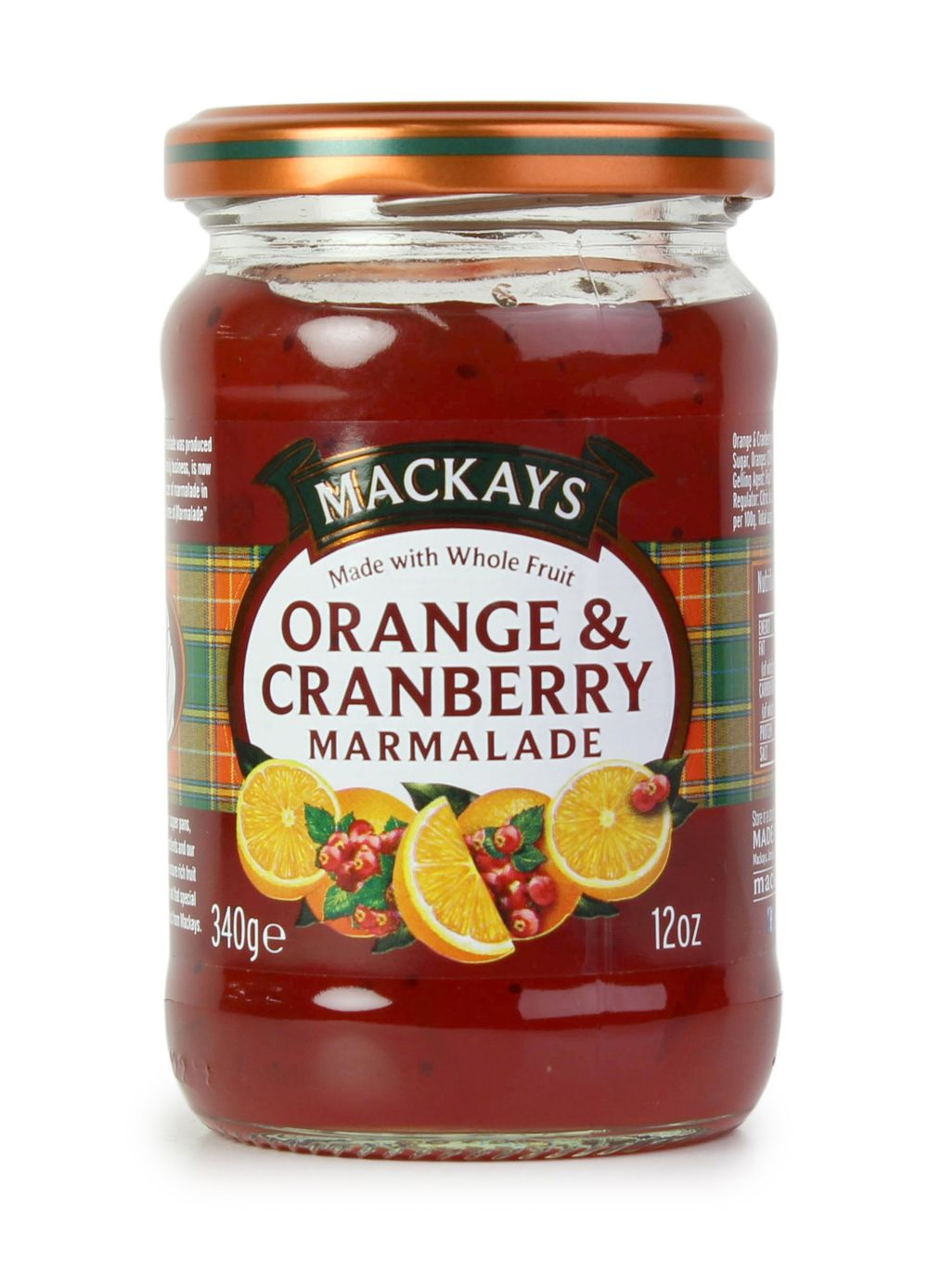 Orange & Cranberry Marmalade