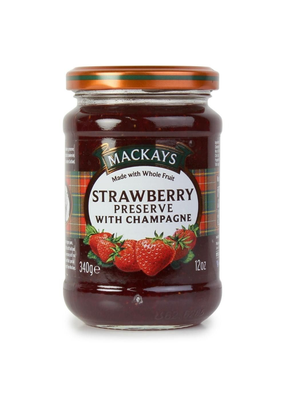 Scottish Strawberry & Champagne Preserve