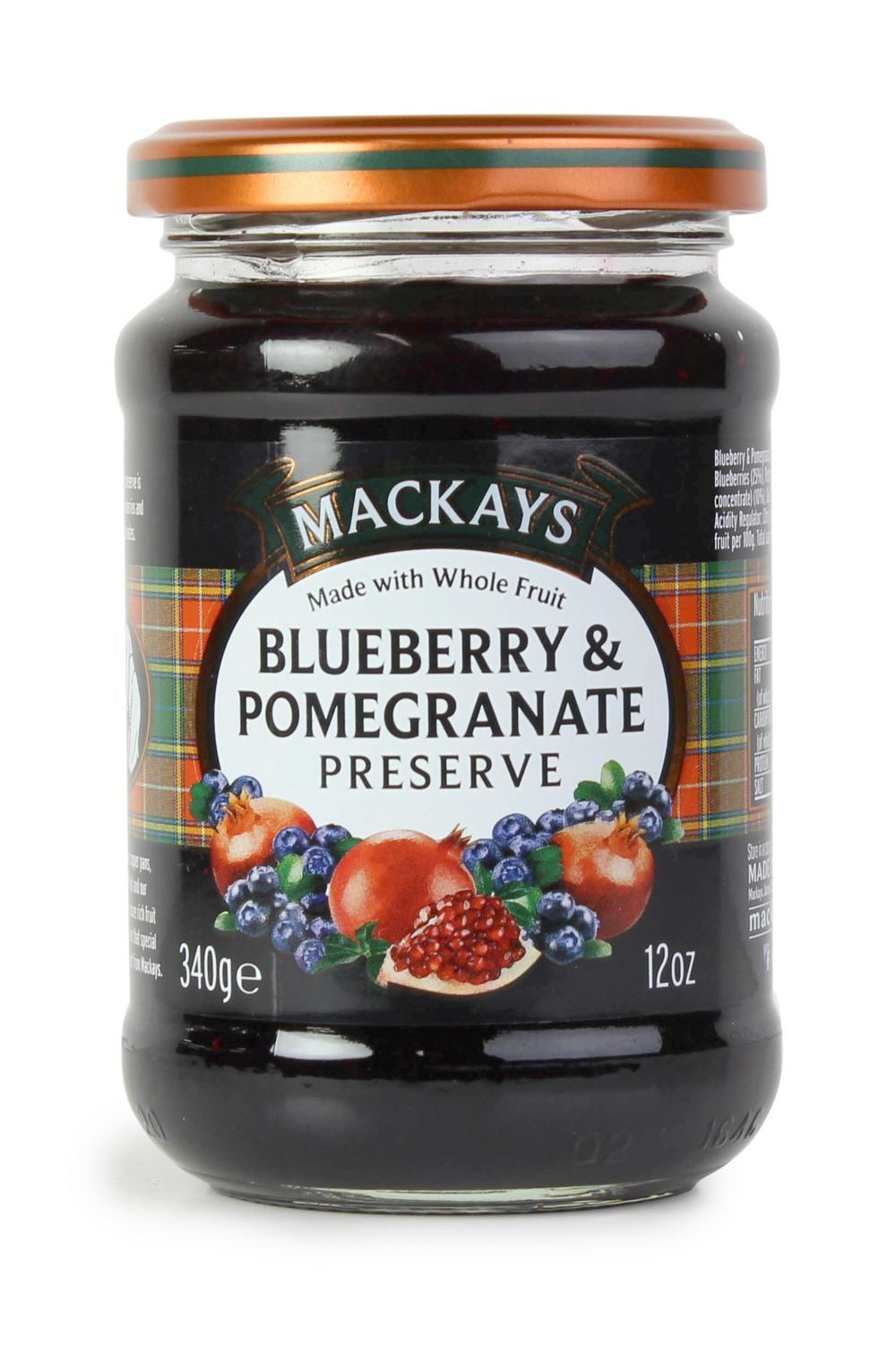 Blueberry & Pomegranate Preserve