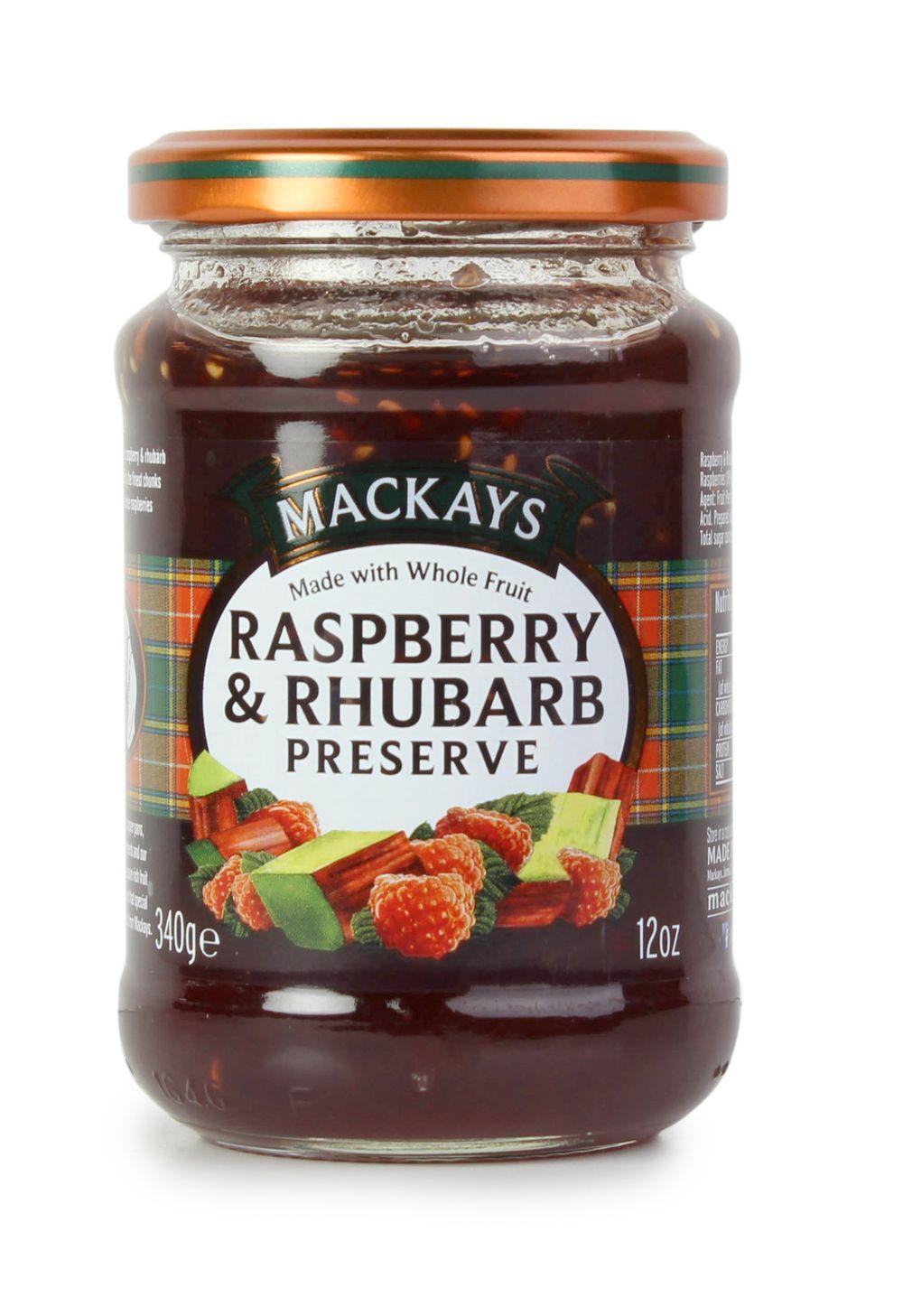 Raspberry & Rhubarb Preserve