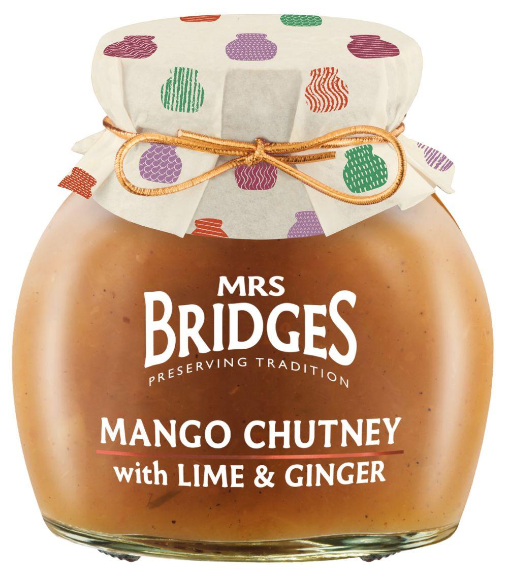 Mango Chutney w/ Lime Ginger