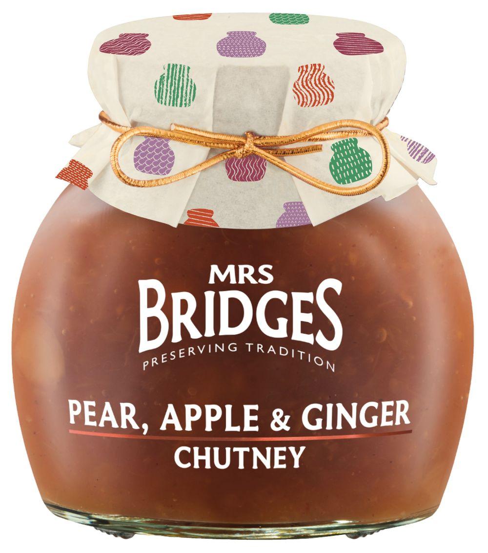 Pear, Apple & Ginger Chutney