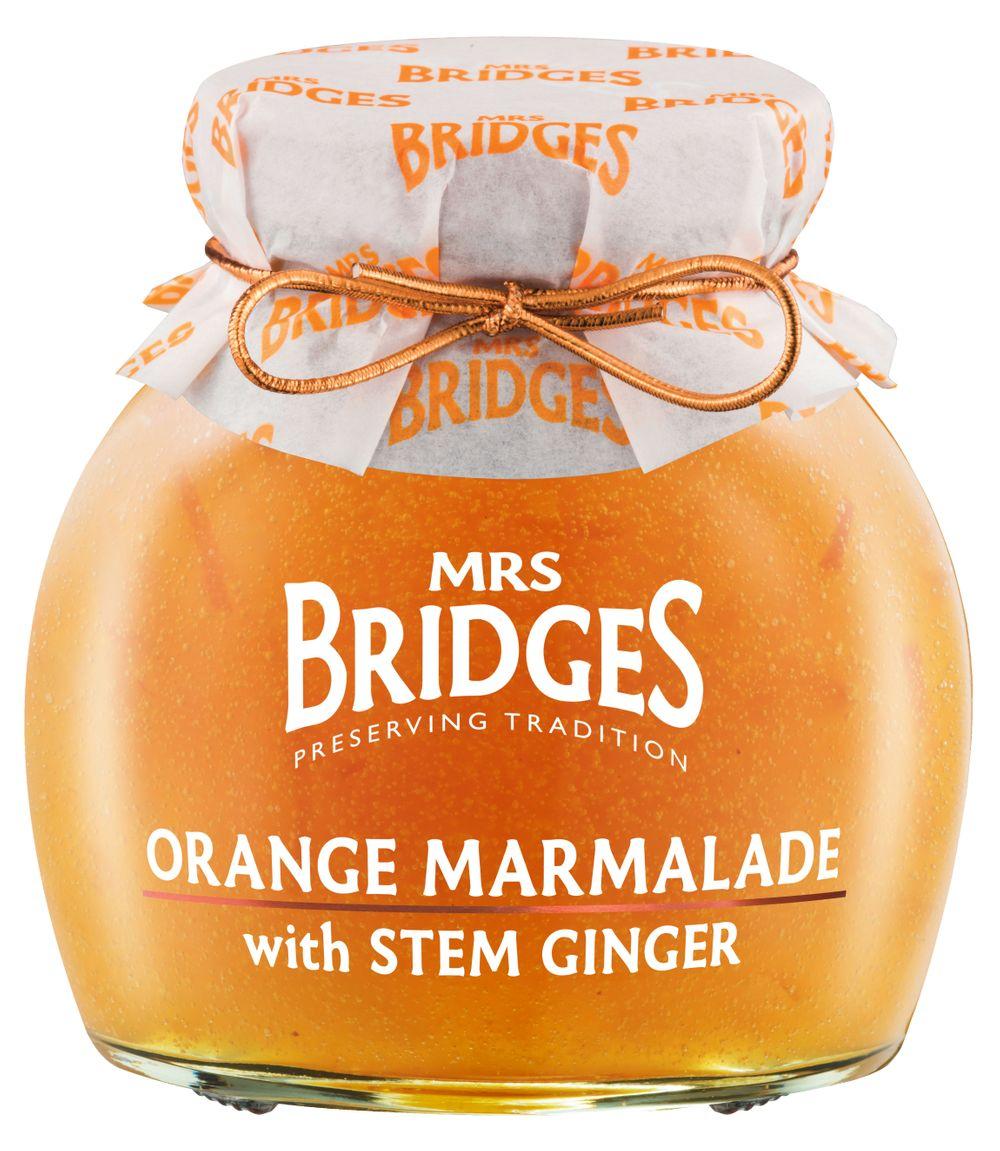 Orange Marmalade with Stem Ginger