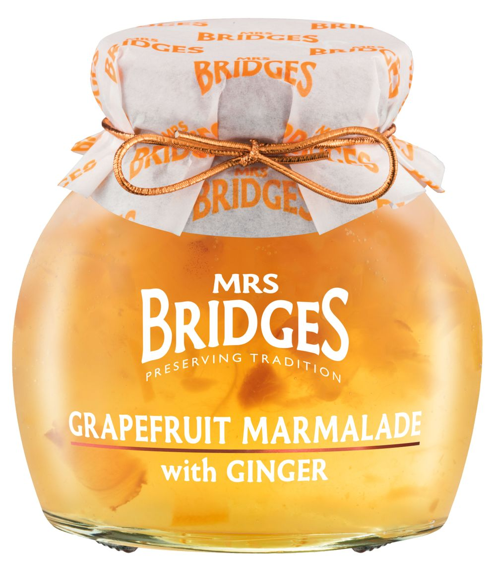 Grapefruit Marmalade with Ginger