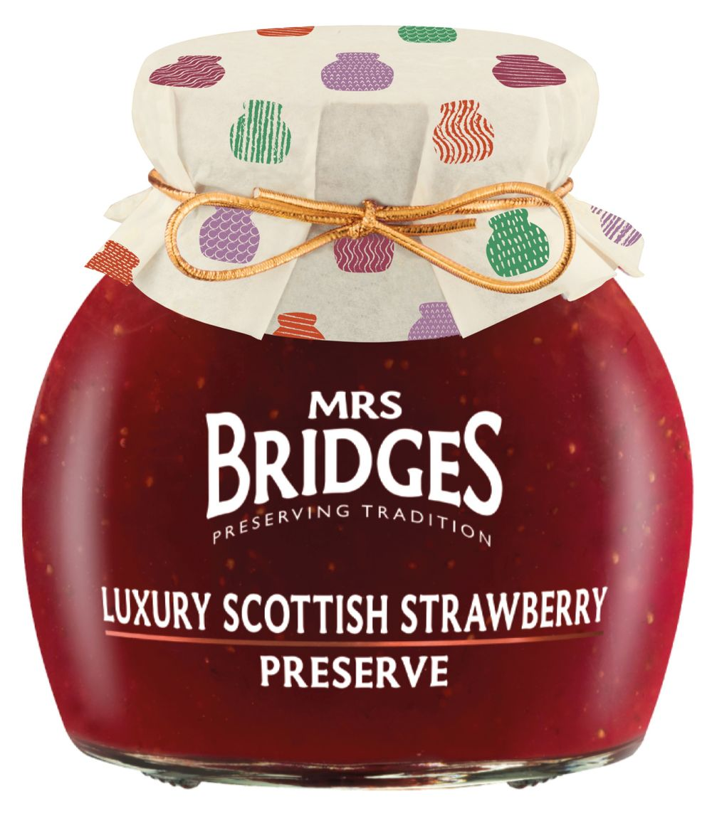 Luxury Scottish Strawberry Preserve