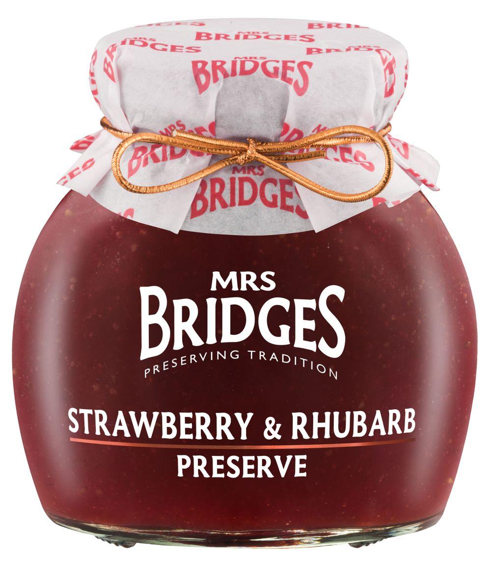 Strawberry & Rhubarb Preserve
