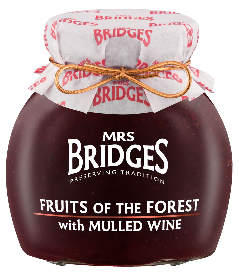 Fruits of the Forest with Mulled Wine