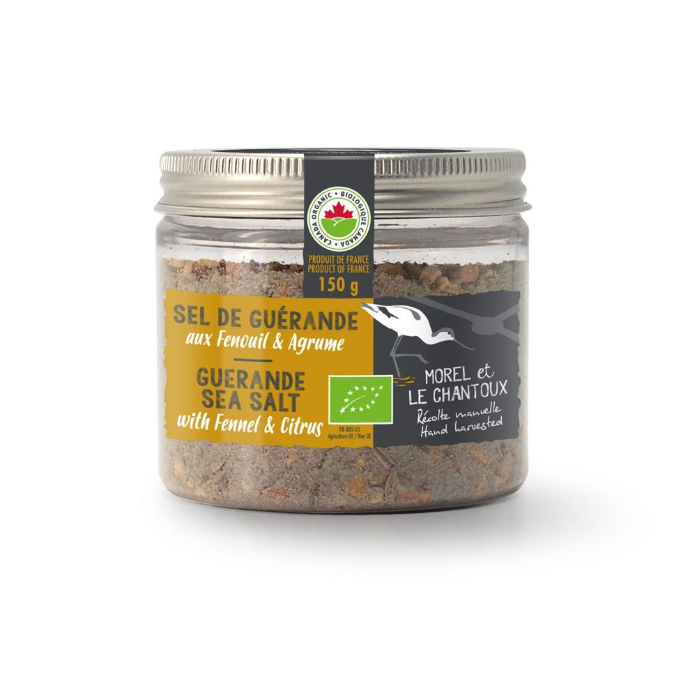 Guérande Sea Salt with Fennel & Citrus