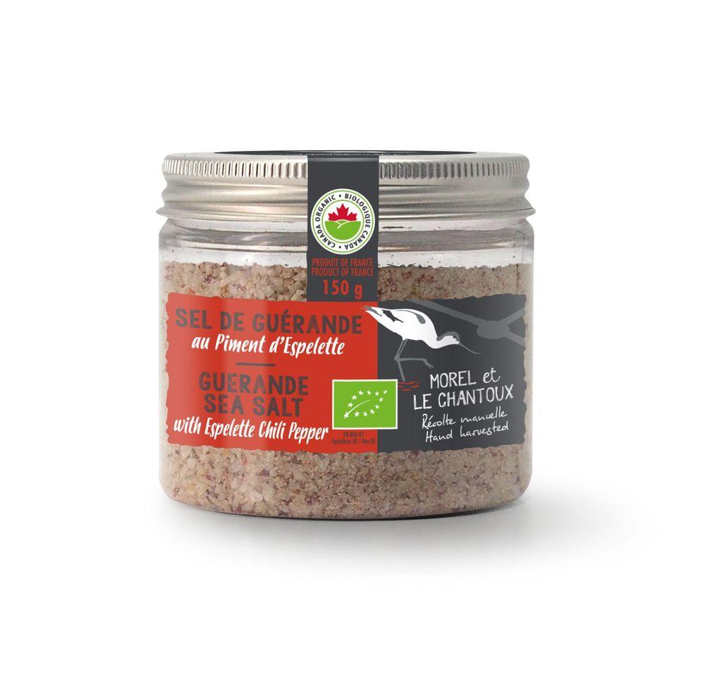 Guérande Sea Salt with Espelette Chili Pepper