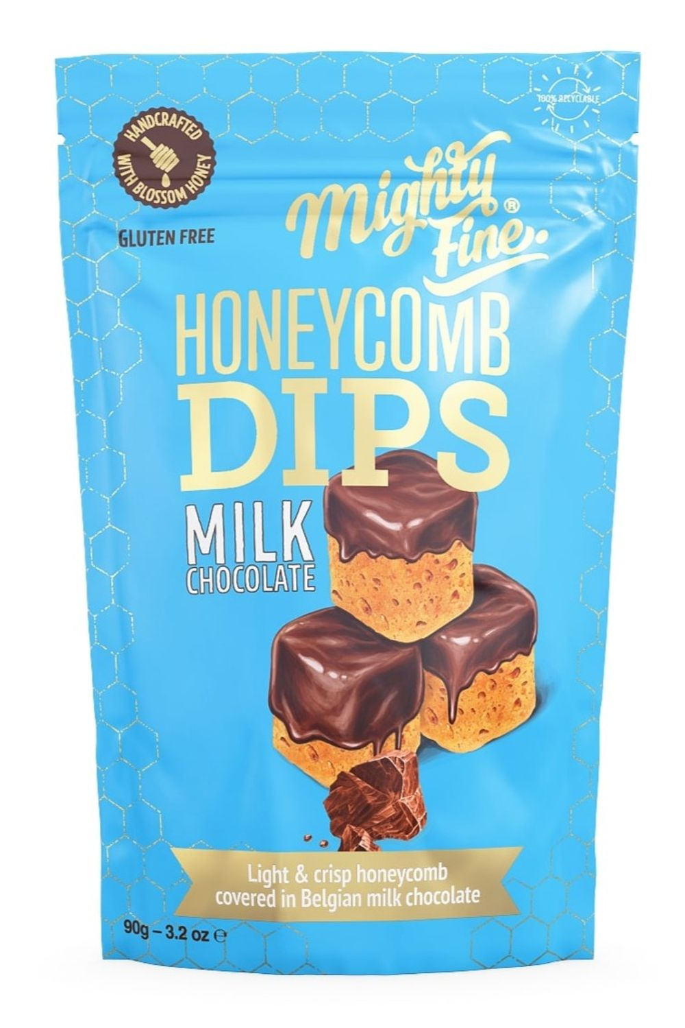 Milk Chocolate Honeycomb Dips