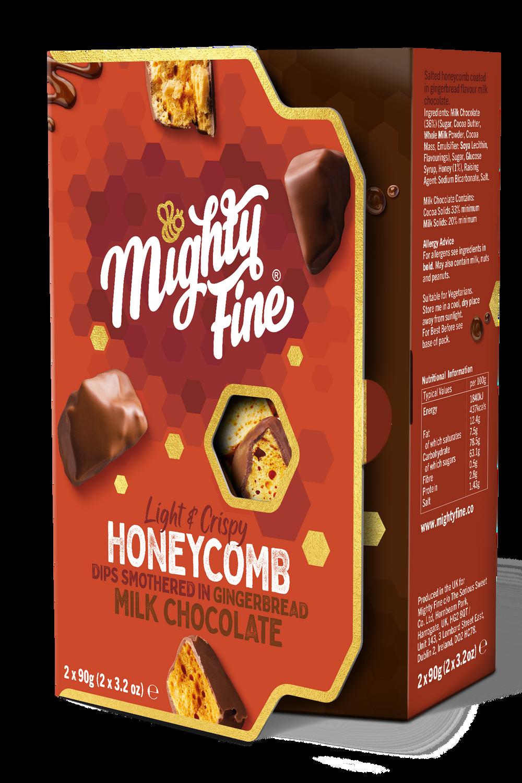 Gingerbread Honeycomb Dips