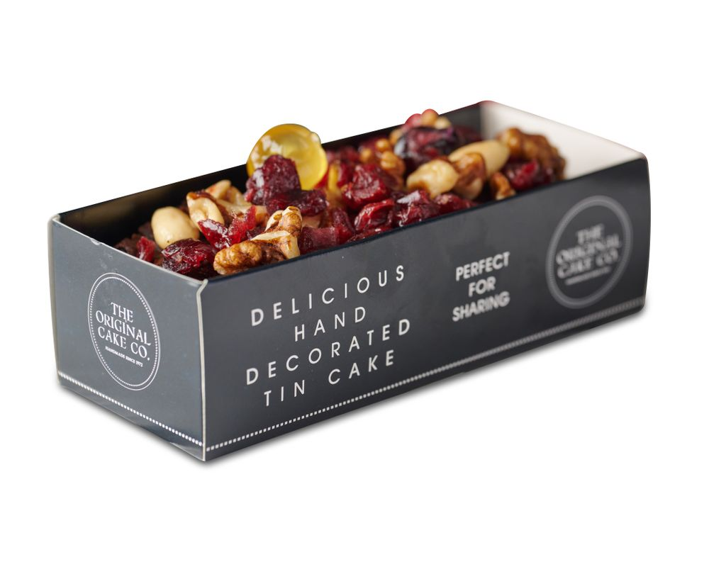 Jewel Topped Rich Fruit Cake