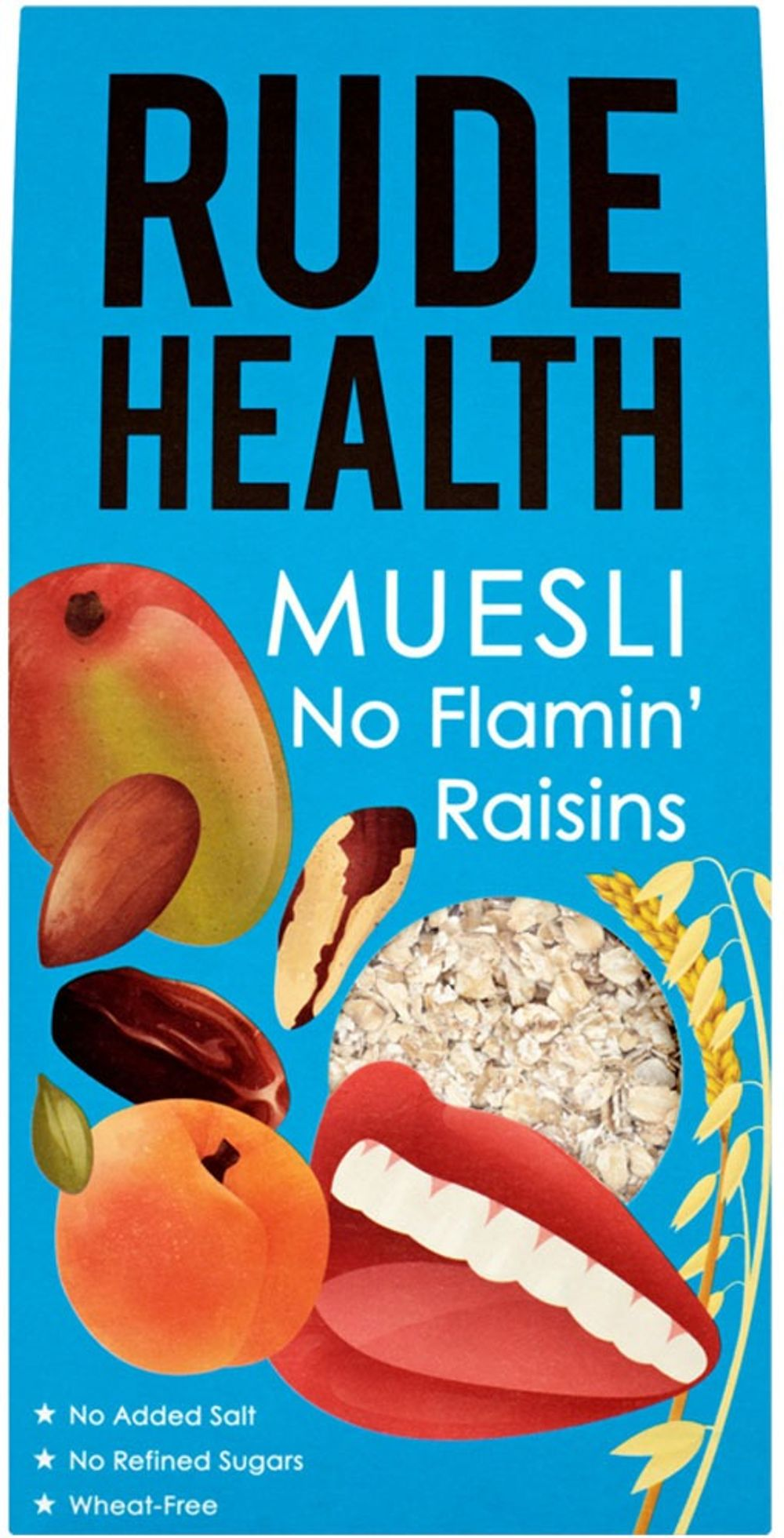 No Flamin' Raisins Muesli