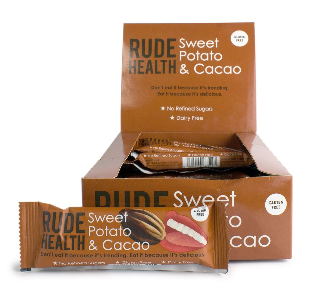 Sweet Potato & Cacao Bars