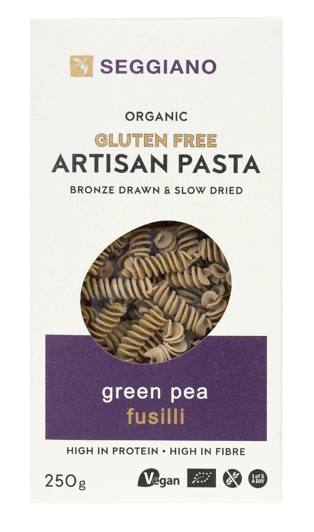 Organic Green Pea Fusilli