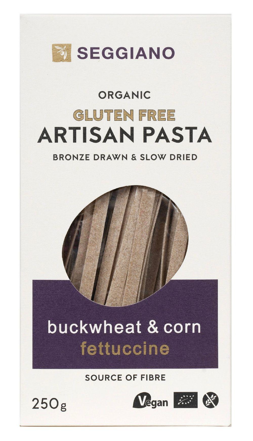 Organic Buckwheat & Corn Fettuccine