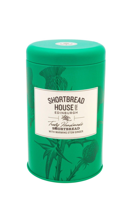 Short Tin - Shortbread with Stem Ginger