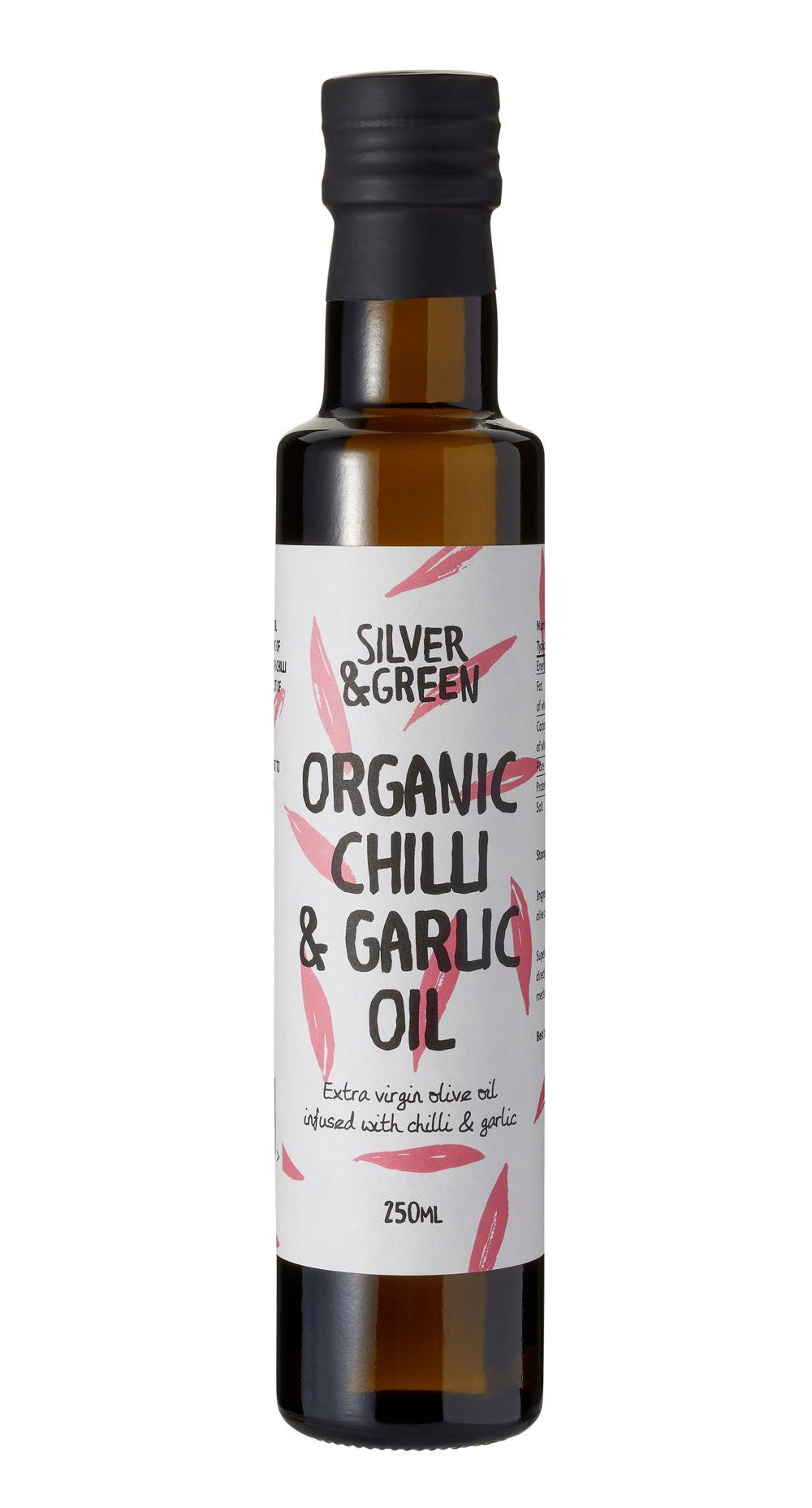 Organic Chilli & Garlic Oil