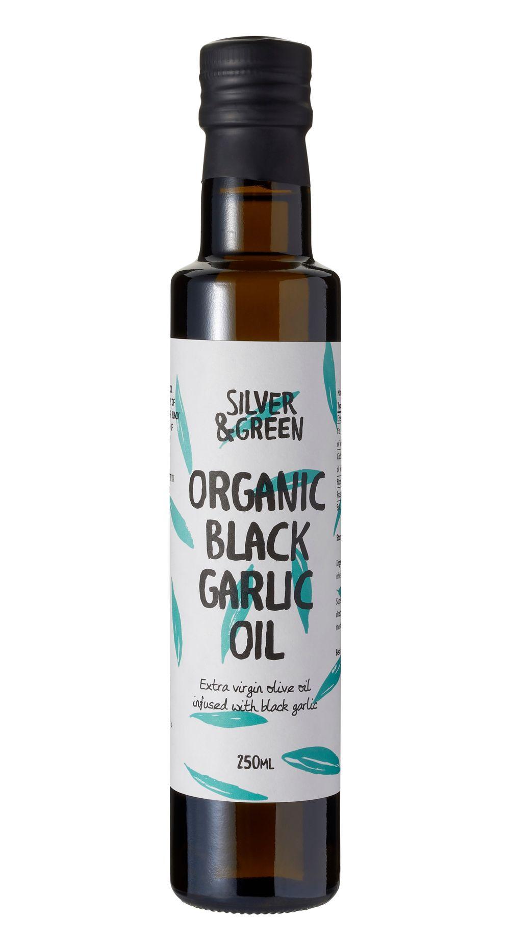 Organic Black Garlic Oil