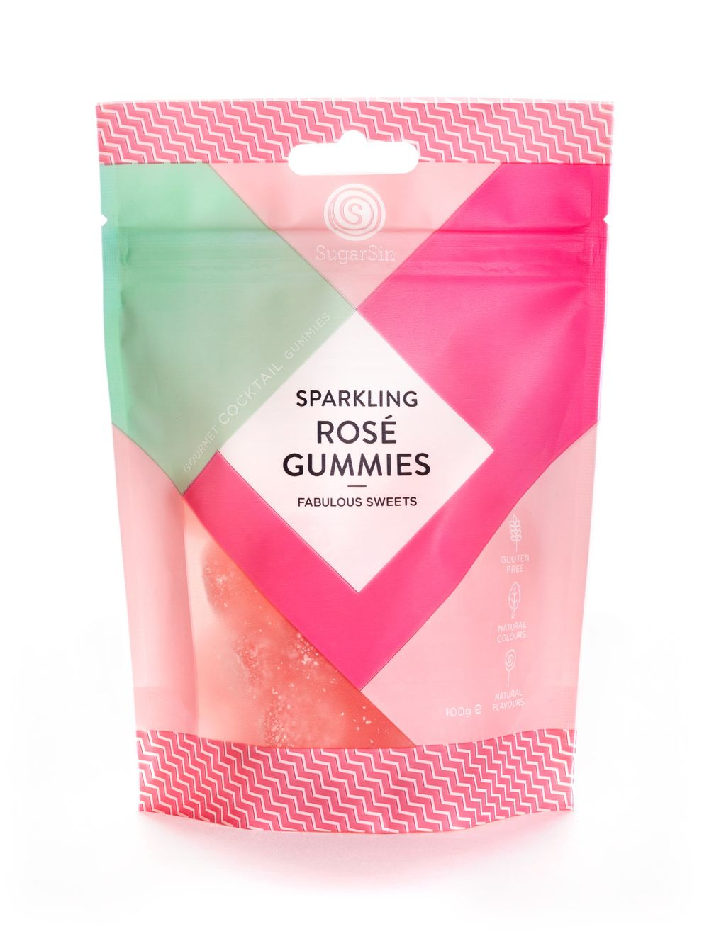 Sparkling Rosé Gummies Pouch