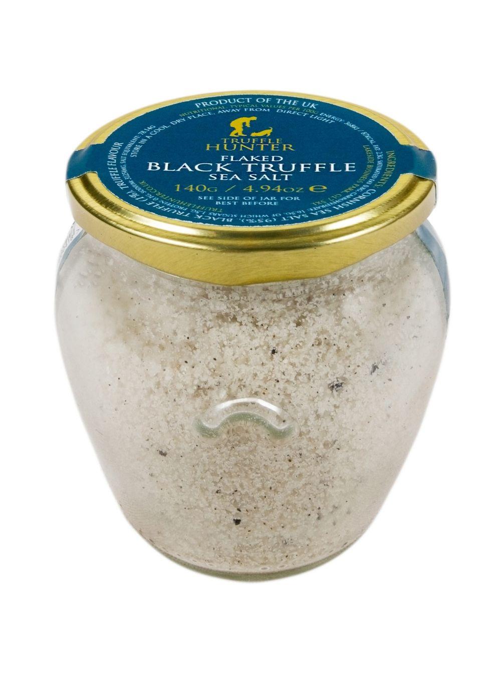 Flaked Black Truffle Sea Salt